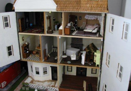Big House Remodel Jenn S Mini Worlds A Dollhouse