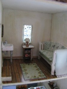 Provence bedroom quarter scale