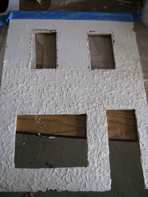 stuccoing