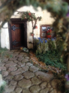 English cottage front door