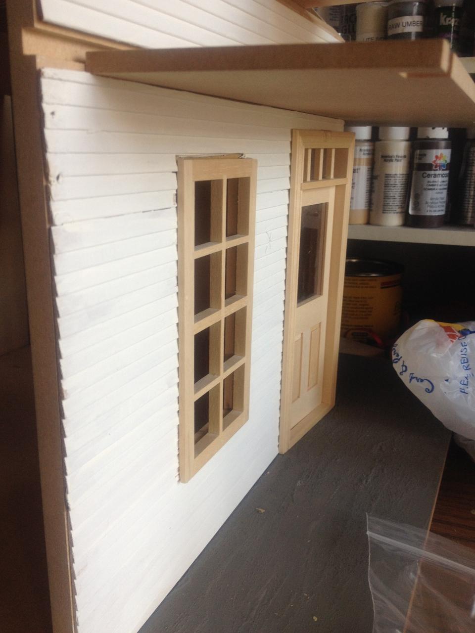Lisa S Country Cottage Part 2 Jenn S Mini Worlds A Dollhouse