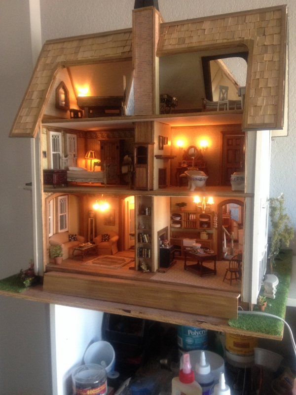 1000 Images About Fairfield Dollhouse On Pinterest