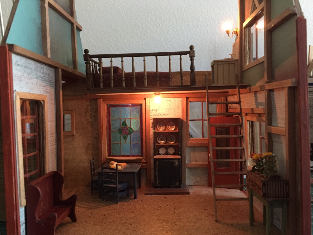 Dollhouse remodeling   Jenn's Mini Worlds: A Dollhouse Miniaturist's