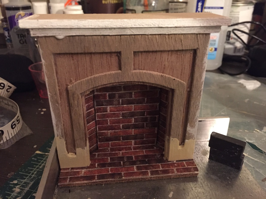 Enjoyable Beacon Hillfireplaces Jenns Mini Worlds A Dollhouse Home Interior And Landscaping Mentranervesignezvosmurscom