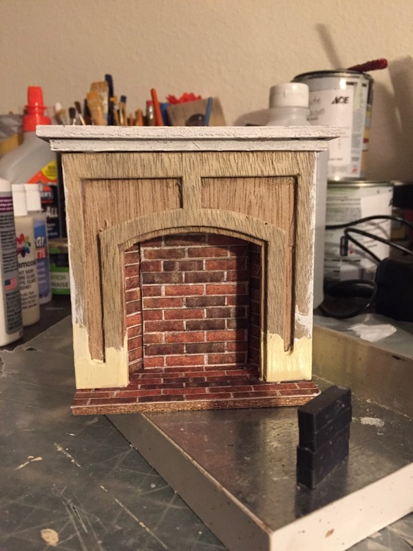 Surprising Beacon Hillfireplaces Jenns Mini Worlds A Dollhouse Home Interior And Landscaping Mentranervesignezvosmurscom